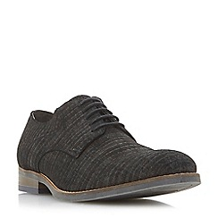 Bertie - Grey 'Prometheus.' lace up Gibson shoes