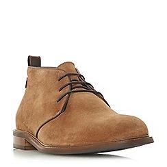 Dune - Tan 'Marchmont' lace up desert chukka boots