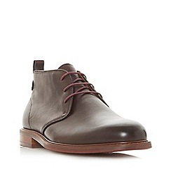 Dune - Brown 'Marchmont' desert boot