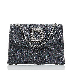 Dune Metallic Ejessie Flap Over Embellished Mini Bag