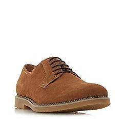 Dune - Tan 'Balerno' suede desert shoe