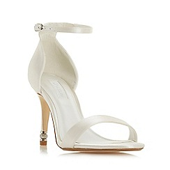 Dune - Ivory 'Match maker' high stiletto heel court shoes