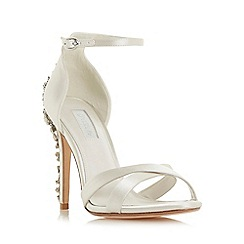 Dune - Ivory 'Marvelle' high stiletto heel court shoes