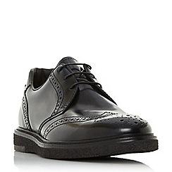 Bertie - Navy 'Balhamn' wedge sole brogue shoes