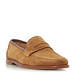 Bertie - Tan 'Soho' penny loafers
