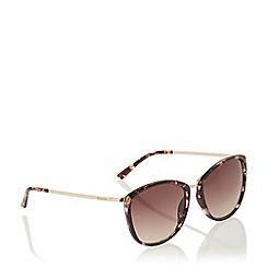 Dune - Light Pink 'Georgiaa' Cat Wayfarer Frame Sunglasses