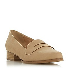185166676e6 Head Over Heels by Dune - Natural  Gisell  block heel loafers