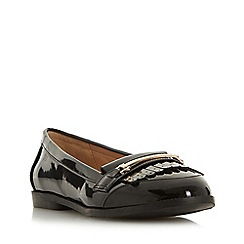 Head Over Heels by Dune - Black 'Goldiie 2' loafers