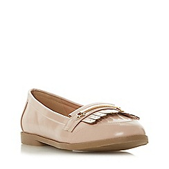 Head Over Heels by Dune - Natural 'Goldiie 2' loafers
