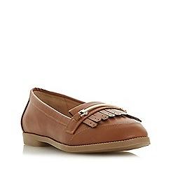 Head Over Heels by Dune - Tan 'Goldiie 2' loafers