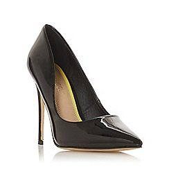 Head Over Heels by Dune - Black 'Aimees' high stiletto heel court shoes