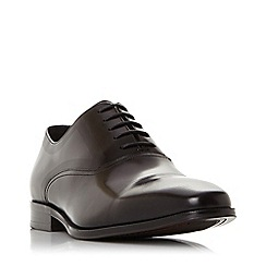 Bertie - Black 'Singer' leather oxford shoes