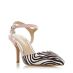 Head Over Heels by Dune - Pink 'Cindi' high stiletto heel court shoes