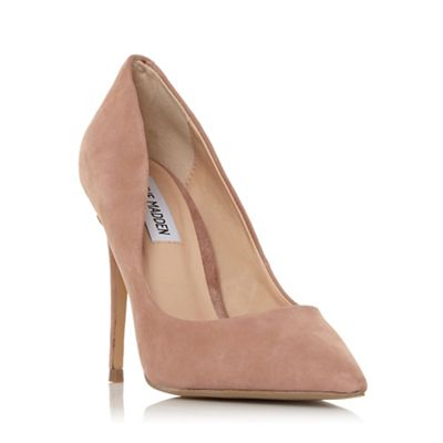 0cb6ba8e3233 Steve Madden Taupe  daisie Sm  High Stiletto Heel Court Shoes by Steve  Madden