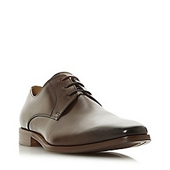 Dune - Brown 'Rikmonds' lace up Gibson shoes