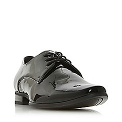 Dune - Black 'Potrov' Gibson Lace-Up Shoes