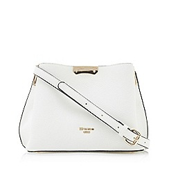 Dune - White 'Dinidarrow' Small Cross Body Bag