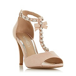Head Over Heels by Dune - Pink 'Mercedes' High Stiletto Heel Peep Toe Shoes