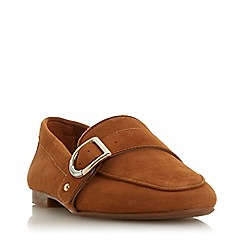 Dune - Tan Suede 'Graysy' Loafers