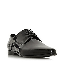 Dune - Black 'Saulon' pointed toe lace-up Oxford shoes
