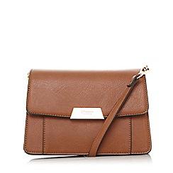 Dune - Tan  Eadaa  Metal Detail Shoulder Bag bc5be0ddc2