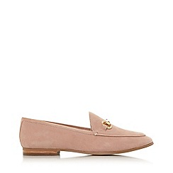 Dune - Cappuccino Leather 'Guiltt' Loafers