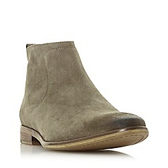Dune - Taupe 'Commute' side zip boots