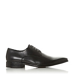 Dune - Brown 'Summary' Chisel Toe Gibson Shoes