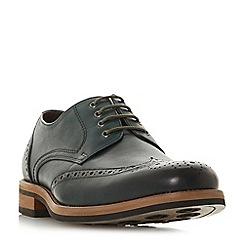 Bertie - Green 'Packman' eyelet chunky brogue shoes