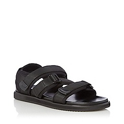 Bertie - Black 'I 400' Multi-Strap Sandals