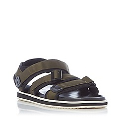 Bertie - Green 'I 400' Multi-Strap Sandals