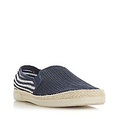 Bertie - Navy 'Isobar' Mesh Espadrille Shoes