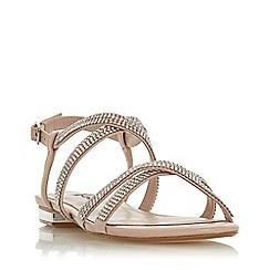 Dune - Light Pink 'Neevie' Gladiator Sandals