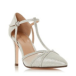 Roland Cartier - Silver 'Dernice' High Stiletto Heel Court Shoes