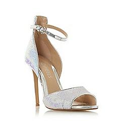 Head Over Heels by Dune - Iridescent 'Minndy' High Stiletto Heel Peep Toe Shoes