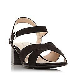 e57765718f8 Roberto Vianni - Black  Jameie  Mid Block Heel Sandals