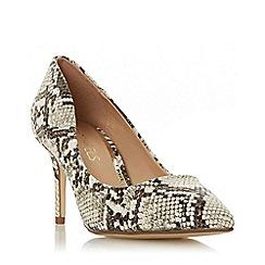 Head Over Heels by Dune - Multicoloured 'Aisla' Mid Stiletto Heel Court Shoes