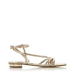 Dune - Rose 'Nissey' Ankle Strap Sandals