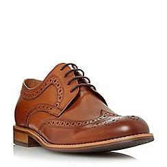 Dune - Tan 'Radcliffe' derby brogue shoe