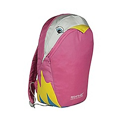 Regatta - Parrot (pink) kids zephyr animal backpack