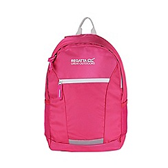 Regatta - Pink 'Jaxon' 10 litre kids back pack