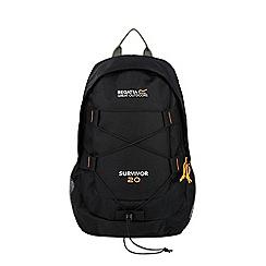 Regatta - Black survivor 20 litre back pack