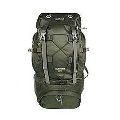 Regatta - Green 'Survivor' 65 litre expedition back pack