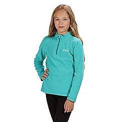 Regatta - Green 'Hot Shot' kids fleece