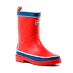 Regatta - Kids Red Foxfire junior wellies