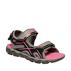 Regatta - Grey kota drift junior sandals