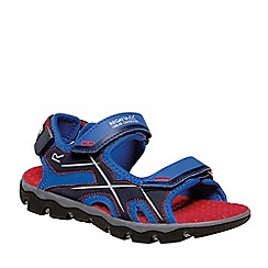 Regatta - Blue kota drift junior sandals