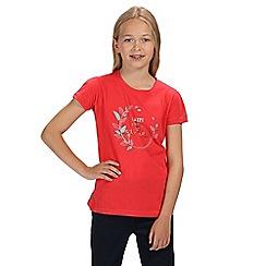 Regatta - Pink bosley short sleeved t-shirt