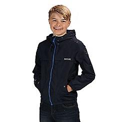 Regatta - Blue hubbell waterproof jacket