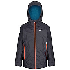 Regatta - Grey allcrest waterproof jacket